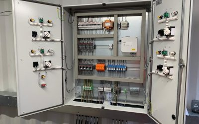 REM Pumping the preferred contractor to supply & deliver a new Site Pump Control panel!
